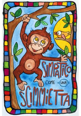 Simpatico come una scimmietta