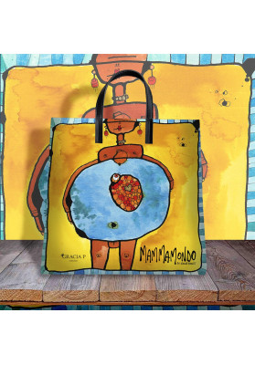Borsa Shopper Mammamondo