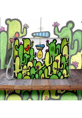 Borsa Pochette Cactus