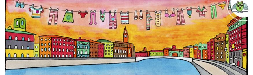 Tele ed altri supporti dipinti a mano da Ilenia Rosati
