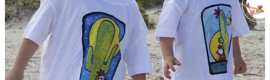 T-shirt: grafiche realizzate a cura di Ilenia Rosati
